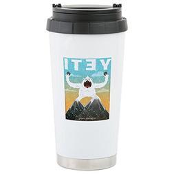 CafePress - Yeti Stainless Steel Travel Mug - Stainless Stee