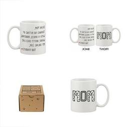 Cute Ceramic Coffee Mug for Mom - Dear Mom From Your Favorit