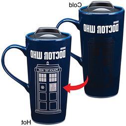 Doctor Who TARDIS Time Machine Heat Reactive 20-oz Ceramic T