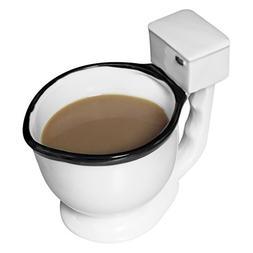 Evelots Toilet Mug Ceramic Coffee, Tea or Beverage Cup Gag G