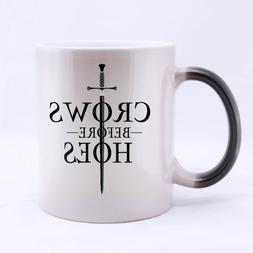 Funny High Quality Game of Thrones Jon Snow Mug - Crows Befo