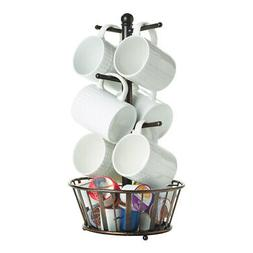 Gourmet Basics by Mikasa 5172783 Band and Stripe Metal 6-Cup