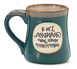 Im a Grandpa Whats Your Super Power Ceramic Mug