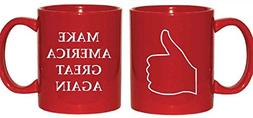 Jade's Mugs - Make America Great Again - Thumbs Up - Trump S