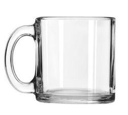 Libbey Robusta Glass Mugs, Set of 12