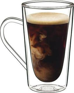 Luigi Bormioli Thermic Hot Drink, 14-ounce, Clear, Set of 2