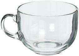 Luminarc Jumbo Mug, 24.25 oz, Clear, Set of 4