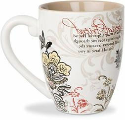 Mark My Words Special Friend Mug, 4-3/4-Inch, 20-Ounce Capac