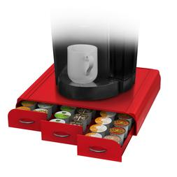 Mind Reader - Single-serve Coffee Pod Drawer - Red