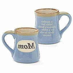 Mom Porcelain Blue Coffee Tea Mug Cup 18oz Gift Box Holds Ch