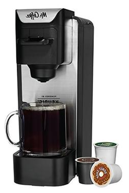 Mr. Coffee - Single-cup Coffeemaker - Silver/black