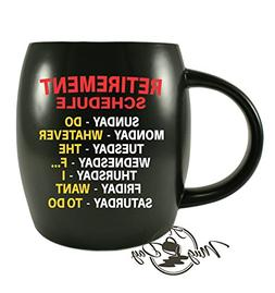 Mug A Day - Retirement Gag Gifts Ideas for Boss Coworkers, G