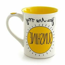 "Our Name is Mud ""You Are My Sunshine"" Stoneware Mug, 16"