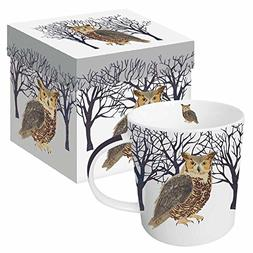 Paperproducts Design 28166 Winter Owl Gift-Boxed Mug 13.5 oz
