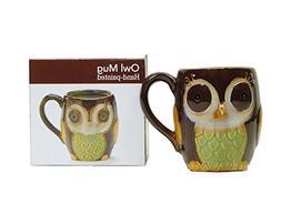 Porcelain Chocolate Owl 12 Oz Coffee Mug/cup for Our Owl Lov