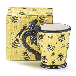 Burton & Burton Raised Design 10oz Bee Mug