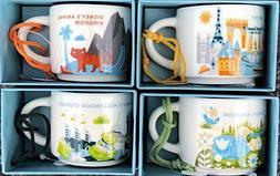 Set of 4: Disney's Animal Kingdom + Magic Kingdom + Hollywoo