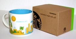 Starbucks 2013 You Are Here Collection California, 14 Oz