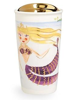 Starbucks Illustrated Siren Double Wall Traveler, 12 Fl Oz
