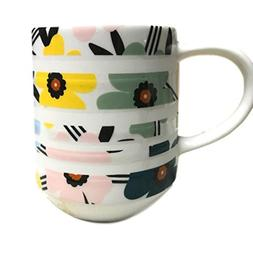 Starbucks for Coffee or Tea - 12 Ounces Banded Floral Mug Sp