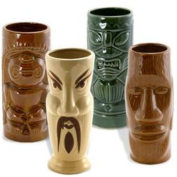 Campbell Tiki Island Mugs Set of 4