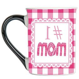 Tumbleweed - #1 Mom - Mom Coffee Mug - Large 18 Ounce White