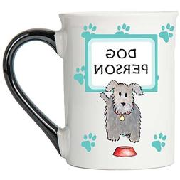 Tumbleweed - Dog Person - Dog Mug - Large 18 Ounce Ceramic C