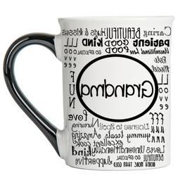 Tumbleweed - Grandma Mug - Typography Designs - Large 18 Oun