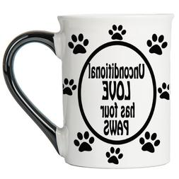 Tumbleweed - Unconditional Love Has Four Paws - Dog Mug - La