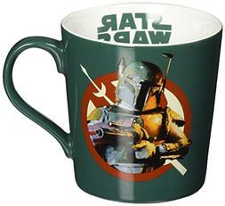 Vandor 99362 Star Wars Boba Fett Ceramic Mug, 12-Ounce, Mult