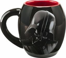 Vandor 99561 Star Wars Darth Vader 18 oz  Oval Ceramic Mug,