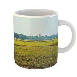 Westlake Art - Coffee Cup Mug - Field Grassland - Modern Pic