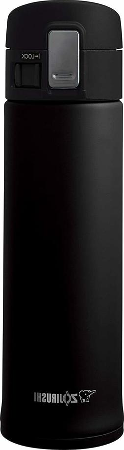 Zojirushi - 16-oz. Vacuum Bottle - Black
