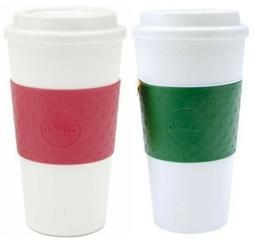 Copco Acadia BPA Free Insulated Travel Mug 16 Oz 2 Pack, Eme