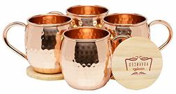 Advanced Mixology Moscow Mule 100% Pure Copper Mugs