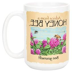 Advice From A Honey Bee Bee Yourself Golden Yellow 15 Ounce