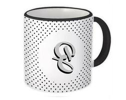 Alphabet Mugs A-Z Letters Initials Monogram Name ABC Coffee