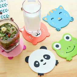 Animal Silicone Dining Table Place mat Coaster Kitchen  Cup