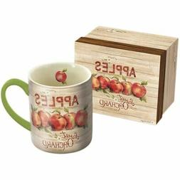 Apple Orchard 14 oz. Mug,  by Lang Companies