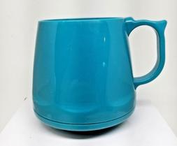 Aqua Teal Heritage Dinex Coffee Mugs Stackable Camping RV Br