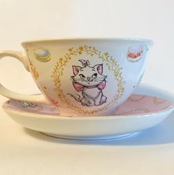 Disney Aristocats Marie Tea Cofee Cup Mug With Saucer Plate