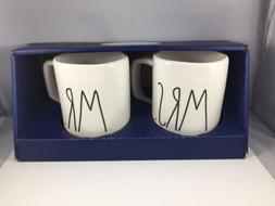 Rae Dunn Artisan Collection by Magenta Set of 2 Coffee Mugs