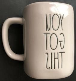 """Rae Dunn Artisan Collection """"YOU GOT THIS"""" Mug - New"""