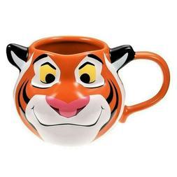 Disney Authentic Aladdin Rajah Tiger Figural Orange 3D Mug C