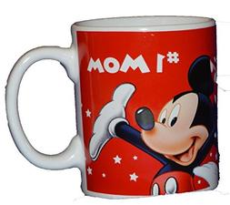 Authentic Disney Mickey Mouse & Friends #1 Mom 11oz Coffee M