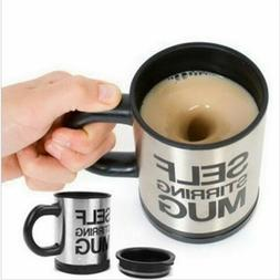 Automatic Plain Mixing Coffee Tea Cup Mugs Drink Ware Lazy S