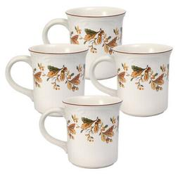 Pfaltzgraff Autumn Berry Set of 4 Mugs