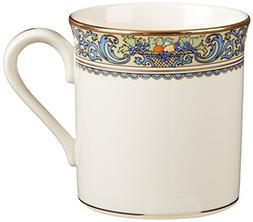Lenox Autumn Gold Banded Ivory China Mug by Lenox