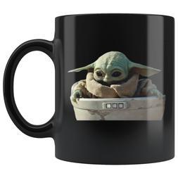BABY YODA CUTE COFFEE MUG 11oz - 15oz Ceramic
