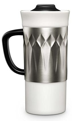 Ello Bandito Ceramic Travel Mug with Spill-Resistant Slider